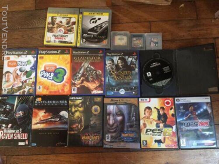 Lots jeux video