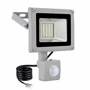 Projecteur détecteur de mouvements led extérieur 20w