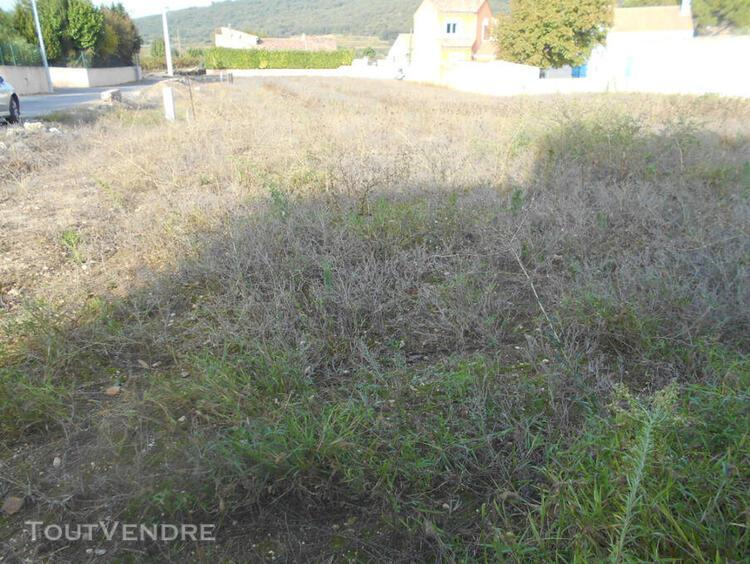 Vente terrain herault fontès
