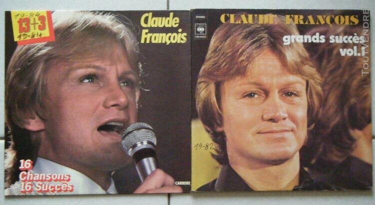 Lot-2 pieces-claude francois