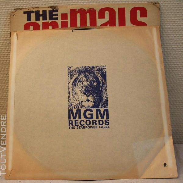 "The animals lp mgm pessage us ""house of the rising sun"""