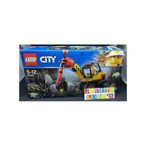 Lego city 60185 l excavatrice avec marteau-piqueur jeu de