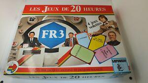 Rare ancien jeu orli jouet / les jeux de 20 heures / neuf