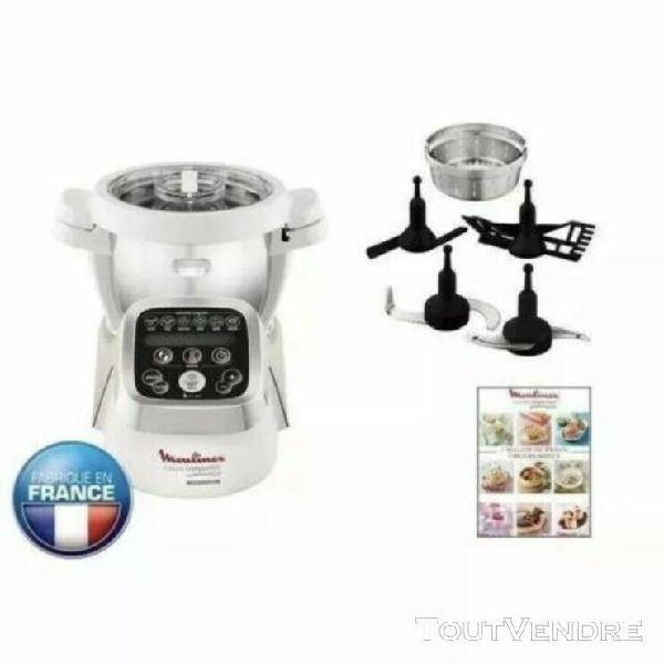 Tbocc:le robot cuiseur 489€ hf800a13 moulinex companion mu