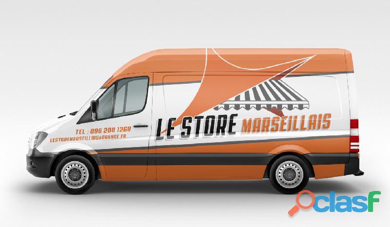 Fournisseur toile de store Marseille 1