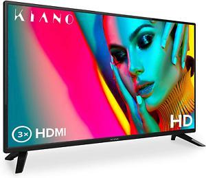 "Kiano slim tv 32"" pouces [80 cm, triple tuner, dvb-t2, ci,"