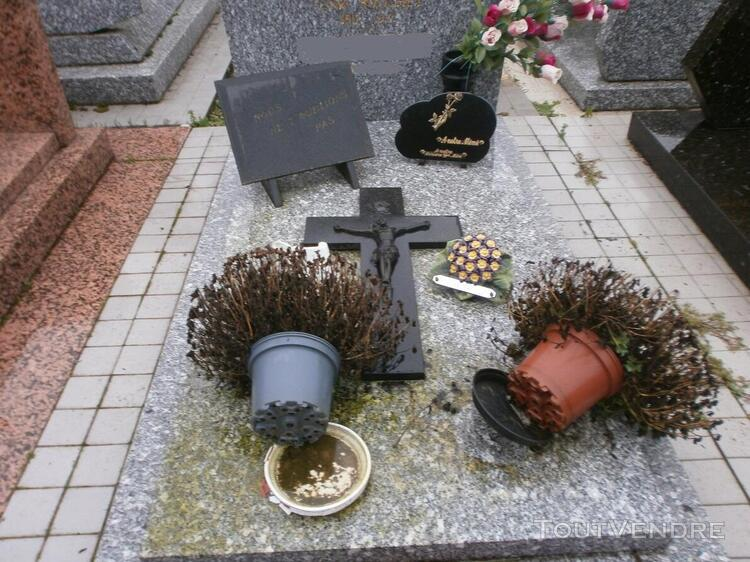 Nettoyage et entretien de sépulture