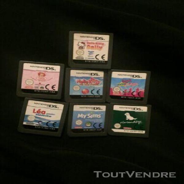 Lot 7 jeux ds/3ds