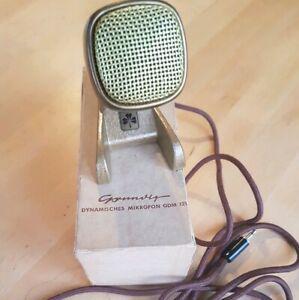 Micro mikrofon microphone grundig gdm 121 sennheiser vintage