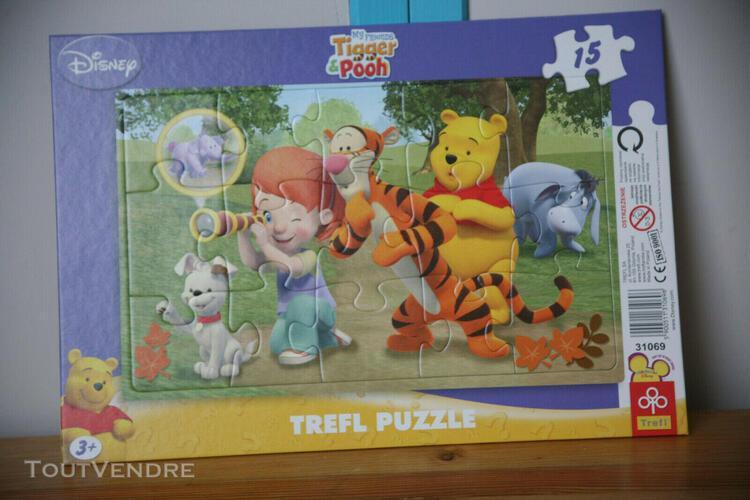 Puzzle –cadre/3-4ans/15 pièces // trefl puzzle //