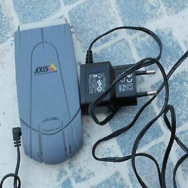 Axis 5400+ serveur d'impression réseau: parallèle -