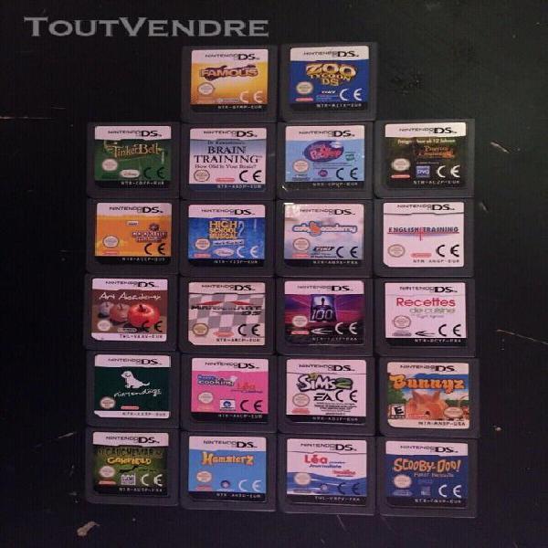 Console nintendo 2ds - transparente bleue pokemon + 22 jeux