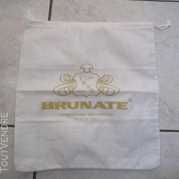 Dust bag sac anti poussière chaussures brunate