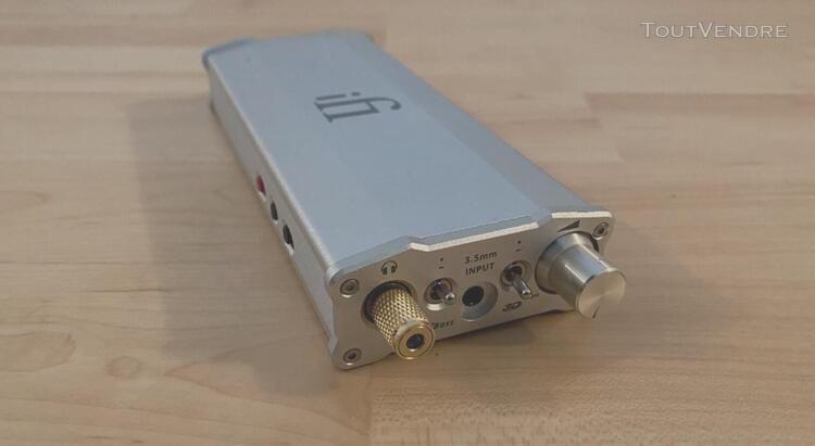 Ifi audio micro idsd dac and headphone amp - with pre amp va
