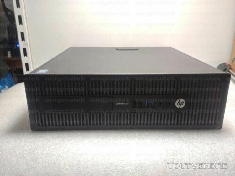 Ordinateur professionnel hp elitedesk 800 i5 4570 + ecran