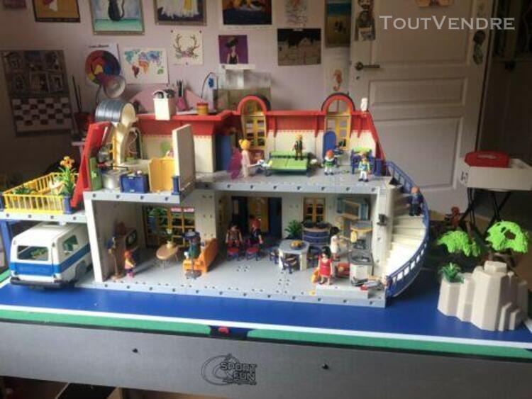 Playmobil 3965 grande maison comtemporaine énorme lot