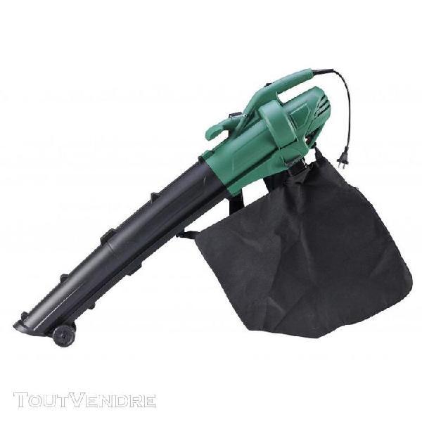 Souffleur aspirateur 3000 w broyeur à feuilles avec sac