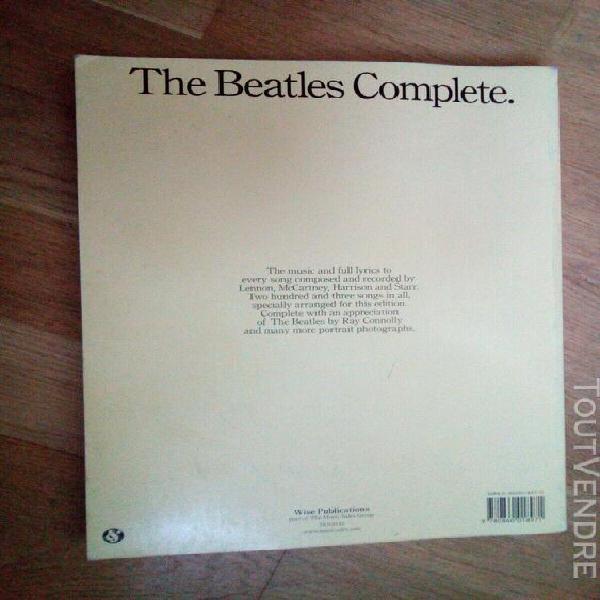 Beatles complete: guitar
