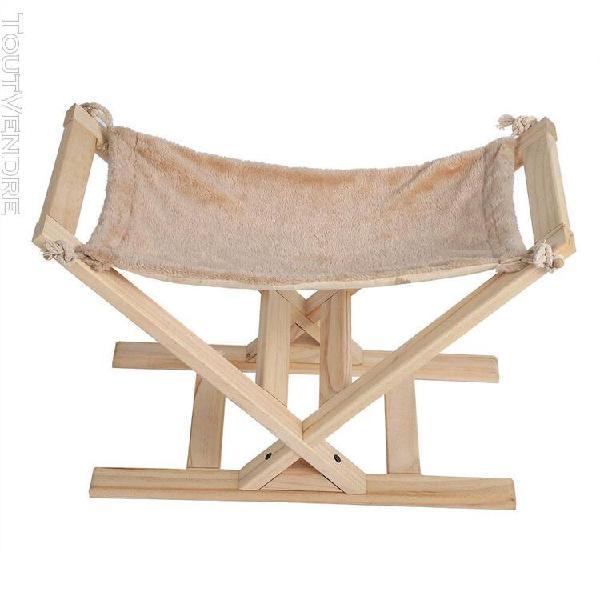 Corbeille panier lit de hamac pliant pour animaux de compagn