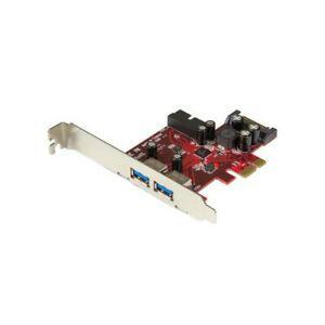 Startech carte contrôleur pci express à 4 ports usb 3.0 -