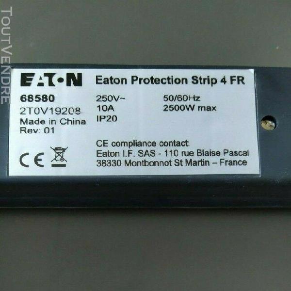 Eaton multiprise/ parasurtenseur avec interrupteur.