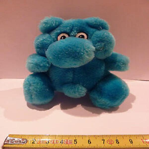 Jouet peluche doudou marionnette ours bleu bébé 1er age