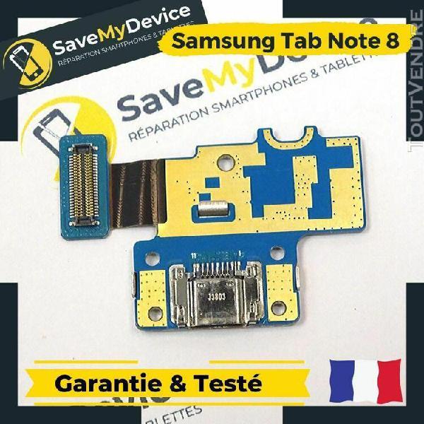 Nappe connecteur de charge led pour samsung tab note 8 n5110