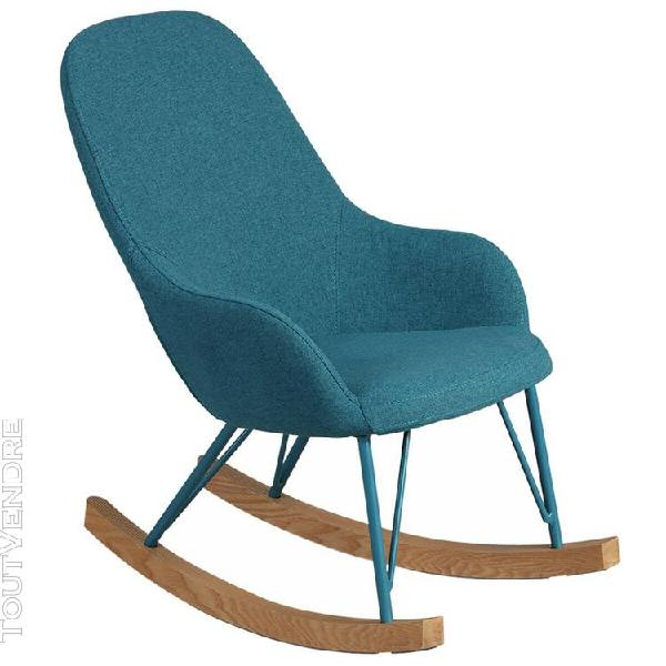 Rosita - rocking-chair enfant turquoise