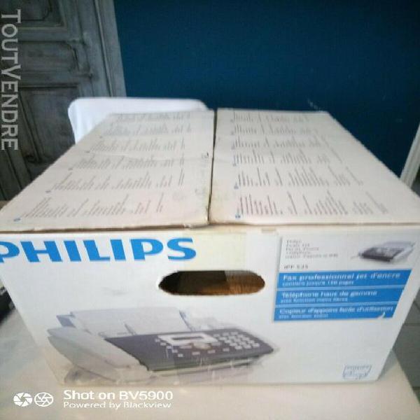 Telephone fax telecopieur pro philips ipf525 neuf jet d'encr