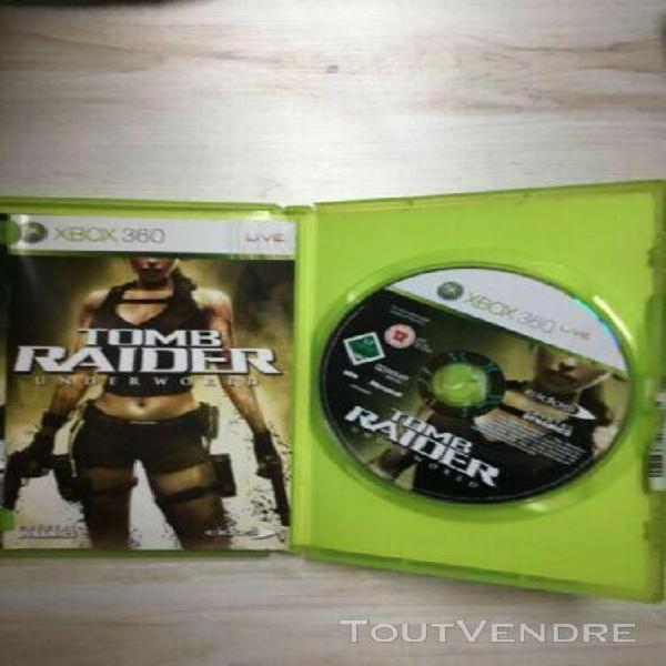 Tombe raider underworld - xbox 360 - vf occasion bon état -