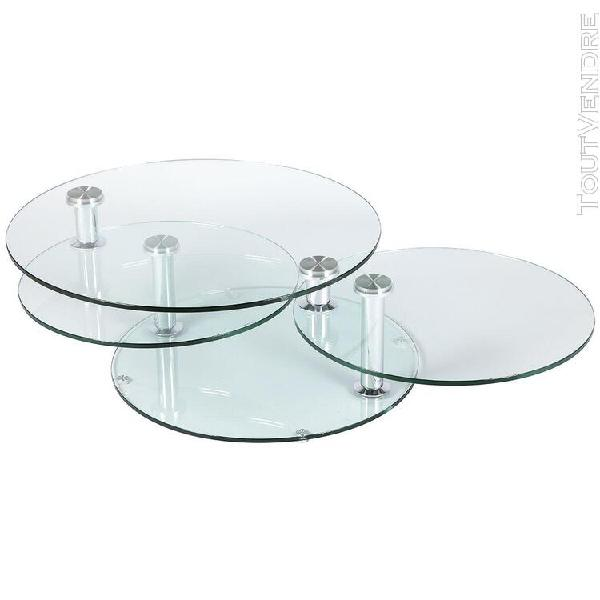 Victoire - table basse ronde