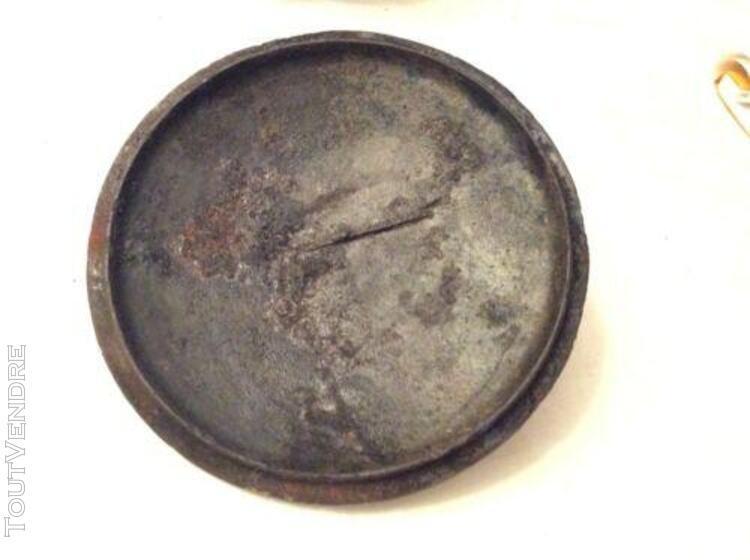 Ancienne marmite en fonte tripode no 3 vintage déco chalet