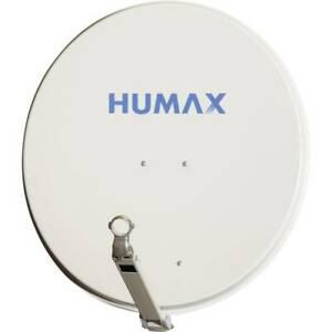 Antenne sat 90 cm humax 90 pro réflecteur: aluminium gris