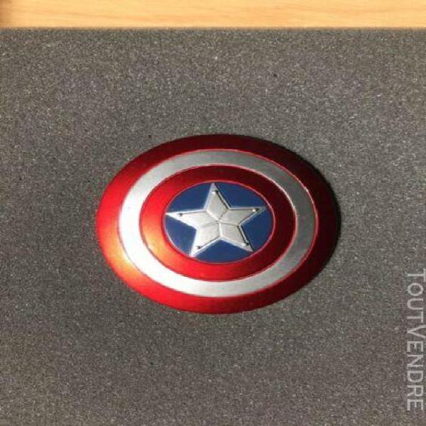 Captain america shield / bouclier: 1/6 scale piece en metal