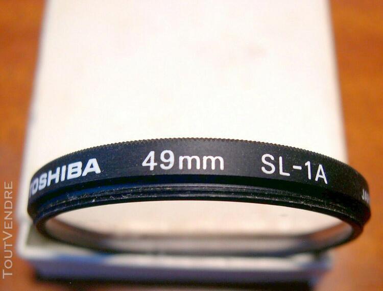 Filtre skylight 1a toshiba pour objectif de 49 mm