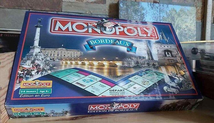 Jeu de société: monopoly édition bordeaux