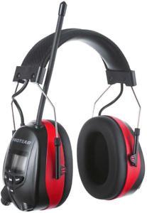 Protear protecteurs d'oreille avec bluetooth, radio
