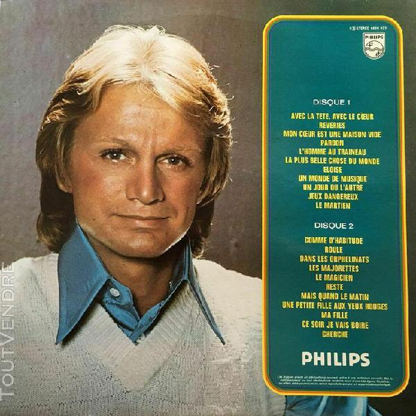 Claude françois - 2 lp - philips 6620 023 - grands succès