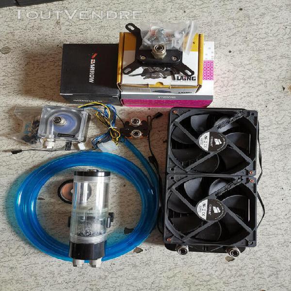 Lot watercooling socket 775 ekwb laing ddc 1t top ekwb + 1l