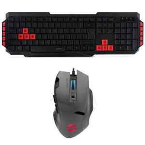 pack clavier souris gamer ludicium vades compatible ps4, ps3