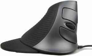 Souris optique verticale usb ergonomique filaire 6 boutons