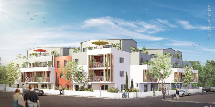 superbe appartement t4 de 78,30 m² et son beau jardin -