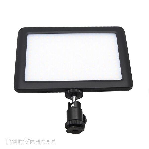 192 led vidéo panneau lampe dimmable 12w 1350lm pour