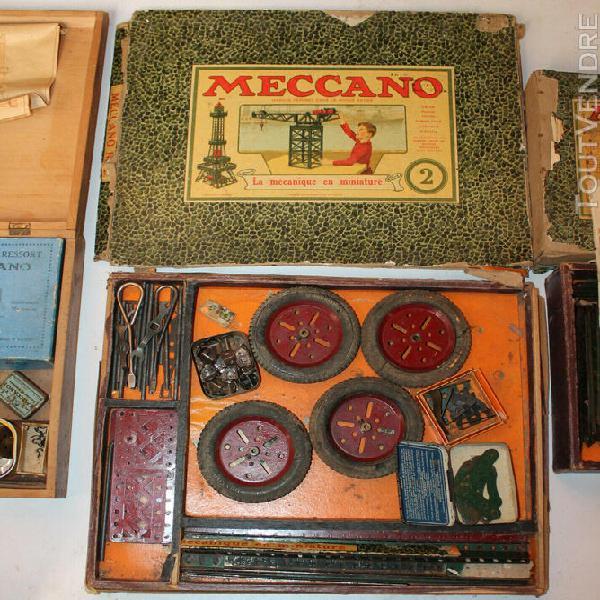 Ancien jeux construction meccano