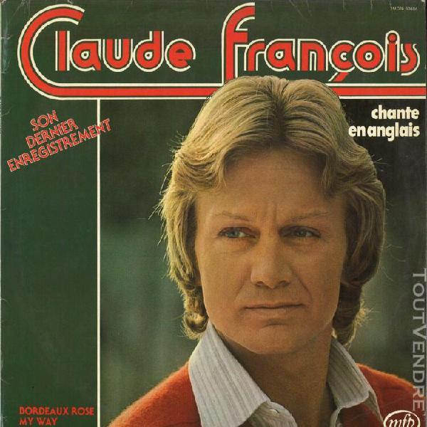 Claude françois 4xlp: bordeaux rosé, disque d'or, les