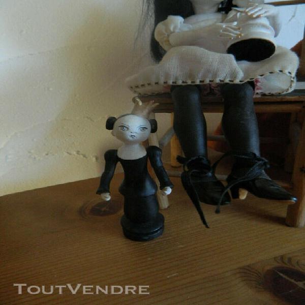 Doll artist, doll art, ooak doll, véronique jacquelin