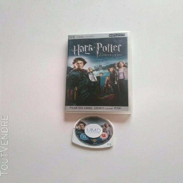 Harry potter et la coupe de feu sur psp / umd