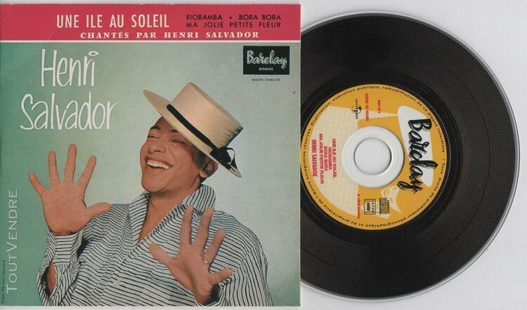 Henri salvador - une île au soleil - cd ep - 2002 - vinyl