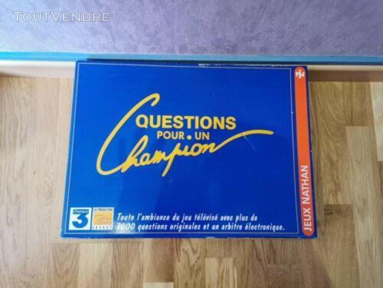 Jeu complet questions pour un champion