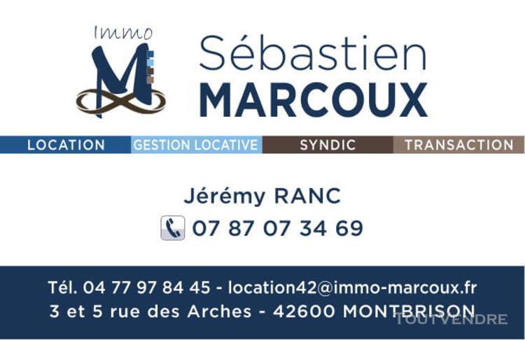 Montbrison - garage - box - 12² m²